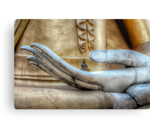 Hand of Buddha Canvas Print