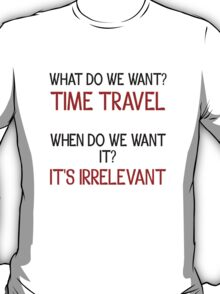 Time Travel Protest T-Shirt
