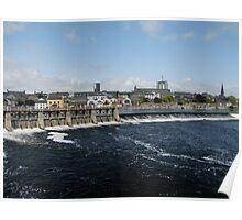 The River Shannon runs through Athlone Poster