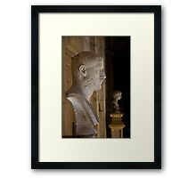 Bust at Castle Howard Framed Print