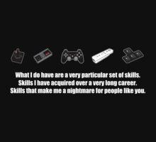 Particular Set of Gaming Skills Dark Kids Clothes