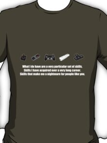 Particular Set of Gaming Skills Dark T-Shirt