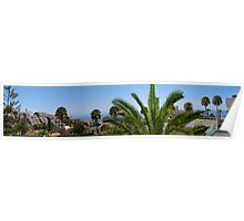 Panorama of Los Gigantes Poster