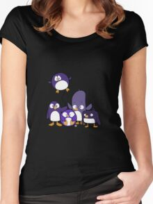 Penguin Parade Women's Fitted Scoop T-Shirt