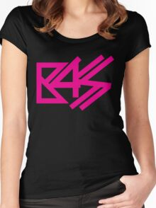 BASS (pink)  Women's Fitted Scoop T-Shirt