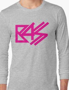 BASS (pink)  Long Sleeve T-Shirt