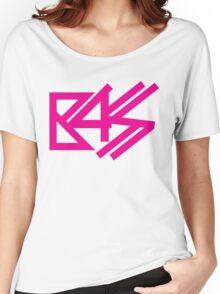 BASS (pink)  Women's Relaxed Fit T-Shirt