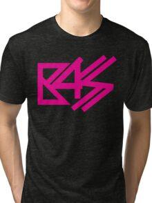 BASS (pink)  Tri-blend T-Shirt