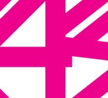 BASS (pink)  Sticker