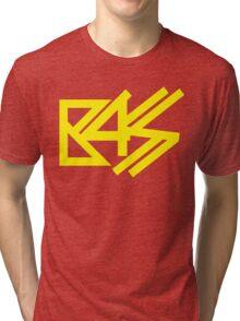 BASS (yellow) Tri-blend T-Shirt