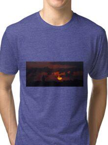 Galata Tower Tri-blend T-Shirt