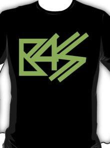 BASS (neon green)  T-Shirt