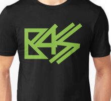 BASS (neon green)  Unisex T-Shirt