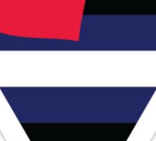 Leather Pride Flag Sticker