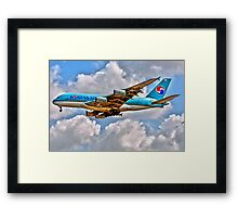 AIRBUS JUMBO Framed Print