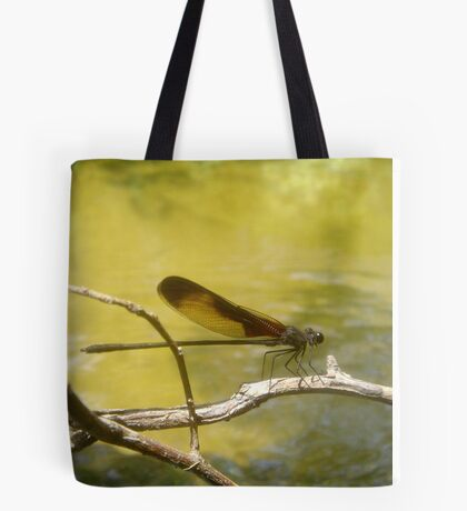 AMERICAN RUBYSPOT on Econfina Creek Tote Bag