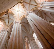 Mosteiro de Alcobaça . the nave by terezadelpilar ~ art & architecture
