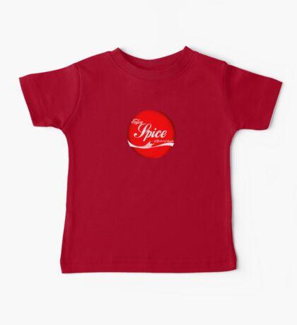 Spice (button/sticker) Baby Tee