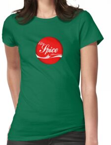 Spice (button/sticker) Womens Fitted T-Shirt