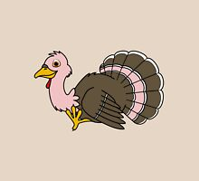 Thanksgiving Turkey with Light Pink Feathers Unisex T-Shirt