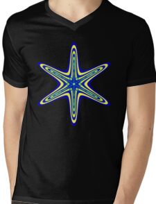 Starburst Shape 2 Mens V-Neck T-Shirt