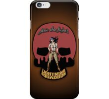 Lightning Squadron Deathshead (Katie Galaxy) iPhone Case/Skin