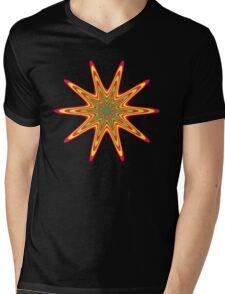 Starburst Shape 1 Mens V-Neck T-Shirt