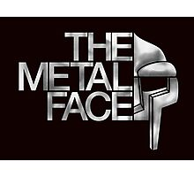 MF Doom - The Metal Face Photographic Print