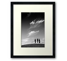 Parkwijk Utrecht, the Netherlands. Framed Print