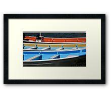 Magdalena Whale Boats Framed Print