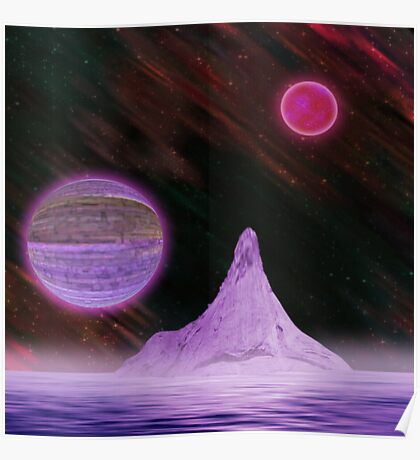 Ultra Purple Poster