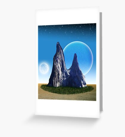 Rock in the Desert Greeting Card