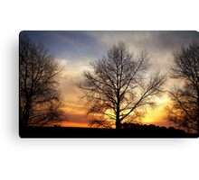 """Sunset on the DON"" Canvas Print"