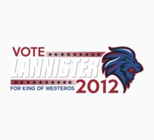 VOTE LANNISTER 2012 Kids Clothes