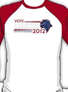 VOTE LANNISTER 2012 T-Shirt