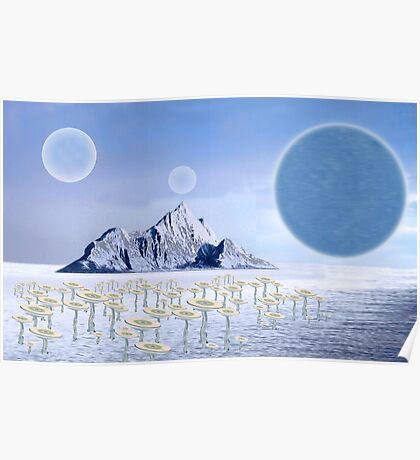 Icy Desert Poster