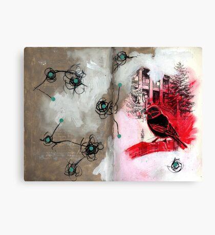 AlteredBook12 #6 Canvas Print