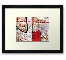 AlteredBook12 #8 Framed Print