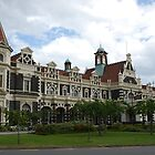 Dunedin Railway Station by DavidsArt