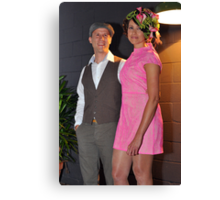 Our daughter and groom at their wedding. Brisbane, Queensland, Australia. (2)  Canvas Print