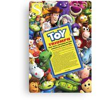 Toy Story 3 (single) Canvas Print