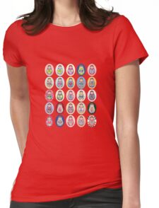 cute doll matryoshka Womens Fitted T-Shirt