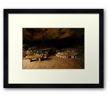 Elegance in the Rock Framed Print