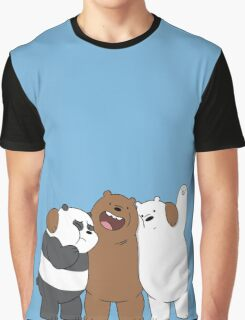 Bear Bros For Life Graphic T-Shirt
