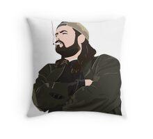 Silent Bob Throw Pillow