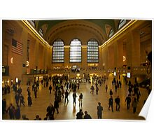 Grand Central Station ( colour )  Poster