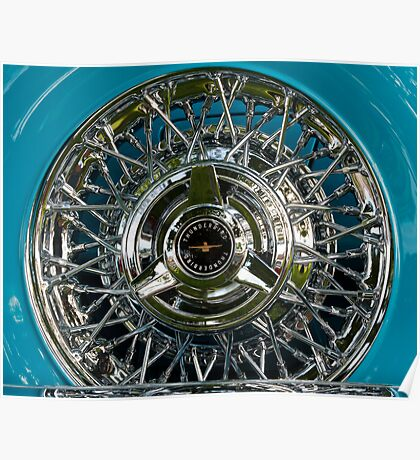 Thunderbird Wheel Poster