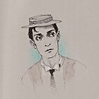 Buster Keaton (with a bit o' color) by juliealberti