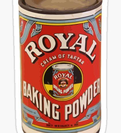 Royal baking powder Sticker