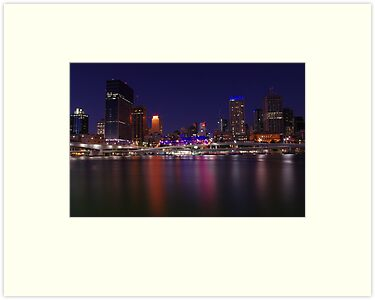 Brisbane Nightlife by zoeamelea
